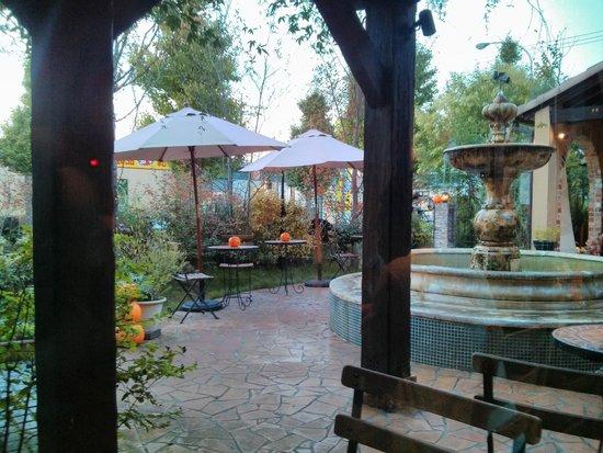 Santamuru: 店内からお庭