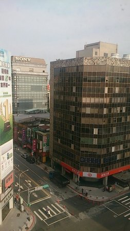 Leofoo Hotel Taipei: 部屋からの眺めです