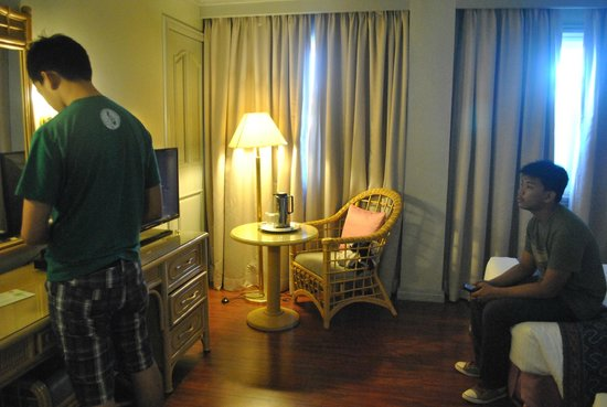 Casa Leticia Boutique Hotel : Corner of the room, have a secret door to the next room