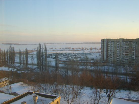 Dnipro Hotel Complex : -30c outside