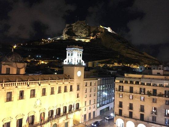 Eurostars Mediterranea Plaza Alicante : Blick von Dachterrasse