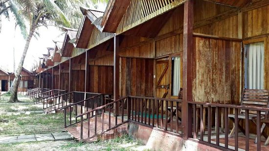 Sea Princess Port Blair: Beautiful cottages