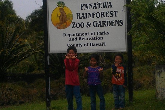 Panaewa Rainforest Zoo and Gardens: The only rainforest zoo in America