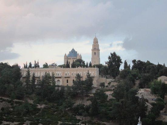 Mount Zion Hotel : вид на старый город