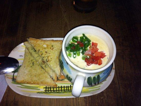 Kurna Chata : Cheese soup (highly recomended) // Zupa serowa (gorąco polecam)