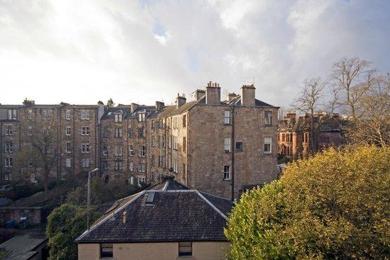 The Belhaven Hotel: View from bedroom window