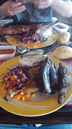 Rancho Texas Lanzarote Park : Awesome food at low prices!!!