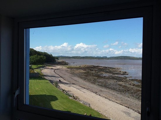 Balcary Bay Country House Hotel: View east from our room