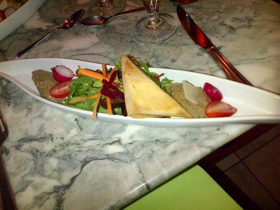 Bistro des Arènes : un plat entrée