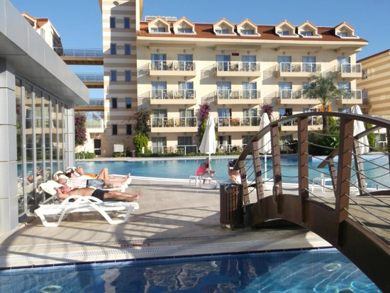Grand Pearl Beach Resort: Территория отеля