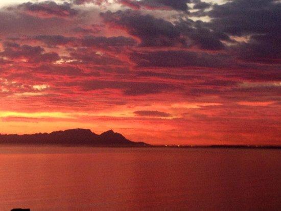 Gordon's Bay, Sudáfrica: Sunset views from Perseverantia