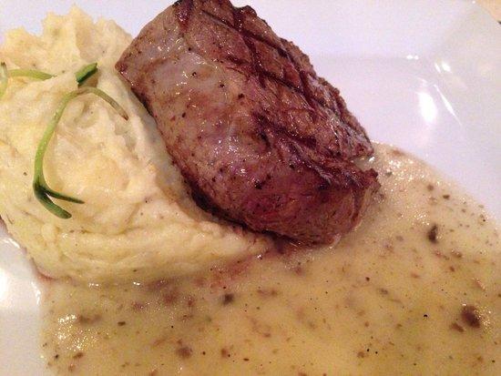 Lipskiy : Fillet with truffle sauce