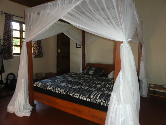 The African House: Schlafzimmer