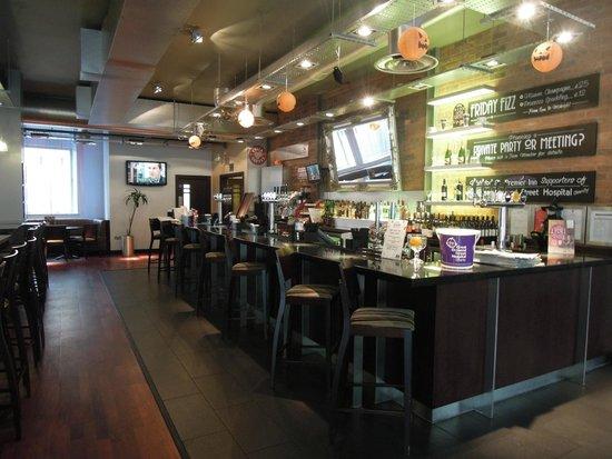 Premier Inn Birmingham City Centre (Waterloo Street) Hotel: The Hotel Bar