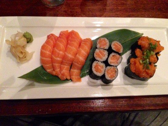 Aoki : Sushi salmone