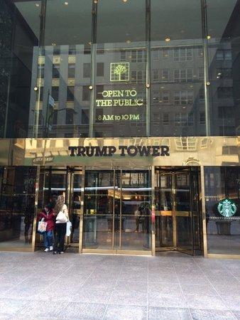 trump tower brings fifth avenue retail halt