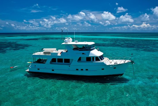Aroona Luxury Boat Charters - Day Cruise: Aroona on the Great Barrier Reef