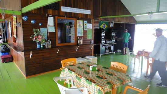 Itacoatiara, AM: Salão de refeições