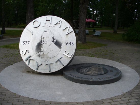 ‪Monument to Johan Skytte‬