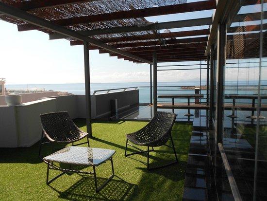 Palace Hotel Bomo Club: Terrasse du dernier étage