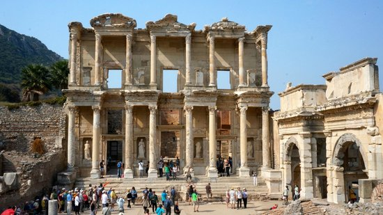 Istanbul to Ephesus Day Trip : The Library