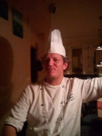 Restaurant Kornblume : The owner/chef