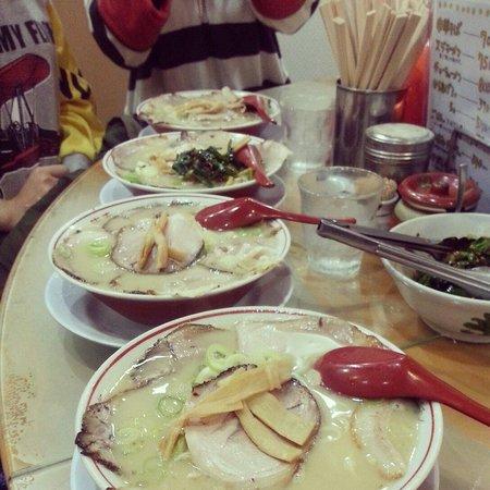 Takayasu : chashu ramen was really great. best donkotsu ramen I ever had :D