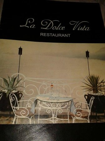 buy popular 90bff 37198 menu - Picture of Ristorante La Dolce Vista, Praiano ...