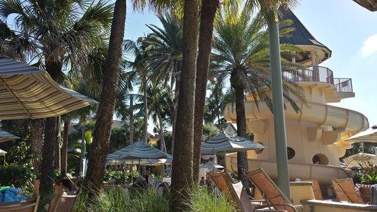 Disney's Vero Beach Resort: The water slide
