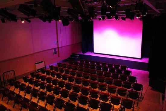 Bungay, UK: Our Auditorium set for a film