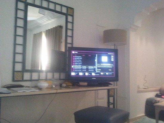 Carthage Thalasso: corner in  myroom