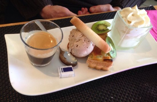 Greg : Café gourmand