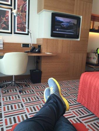 Movenpick Hotel Ankara: Çok şık odası var...