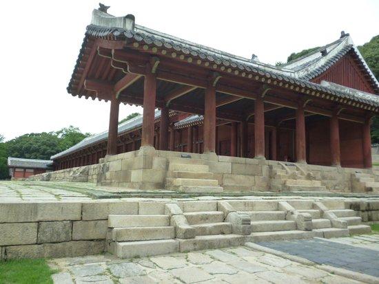 Jongmyo Shrine : Храм Чонмё, главный зал