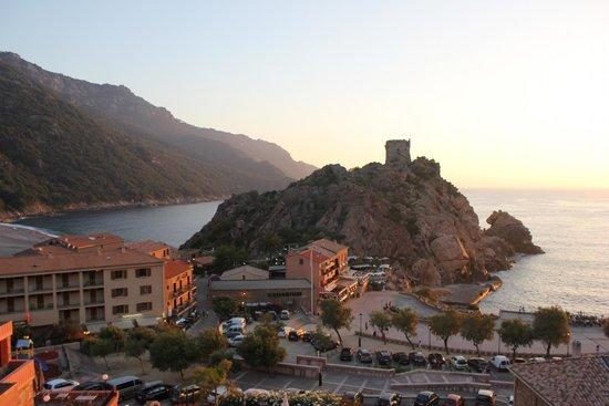 Hotel Kalliste: View from the balcony