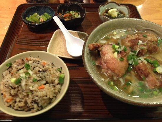 Tenryu : 沖縄ソバセット