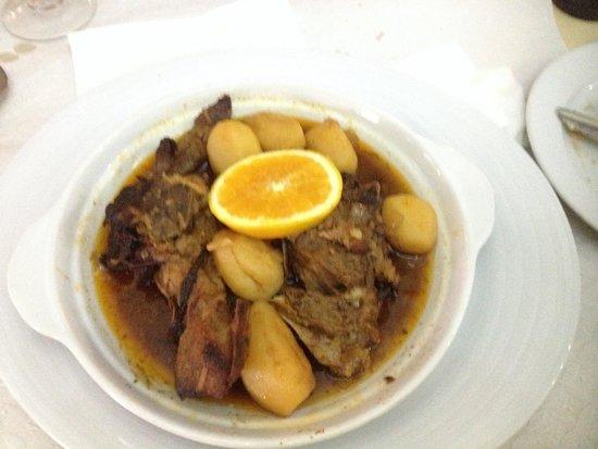 Comidas de Santiago: Borrego com batatas