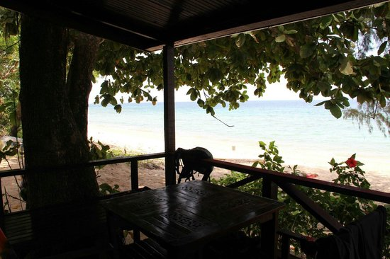Swiss Cottage Tioman : View from room ��