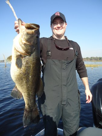 Fish Orlando Trophy Bass Guide Service
