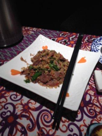 ChengDu Xiao Jing Si Fang Cai: Cold beef salad