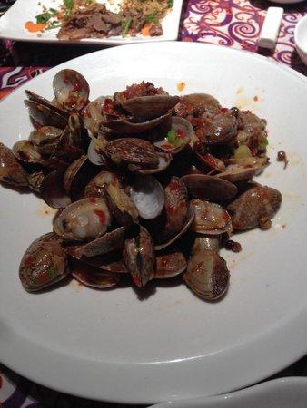 ChengDu Xiao Jing Si Fang Cai: Fried mussels