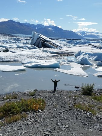 Alaska All Terrain Tours - Day Tours: Made it to the glacier.