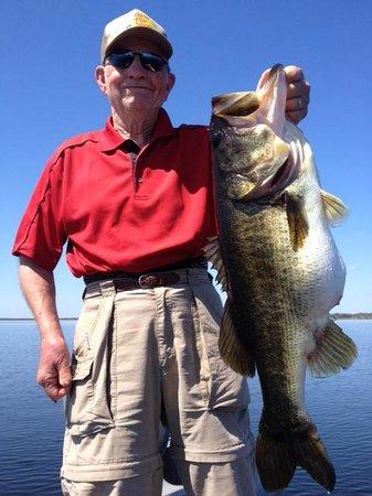 Orlando Bass Fishing Guide Service for Florida Bass Fishing