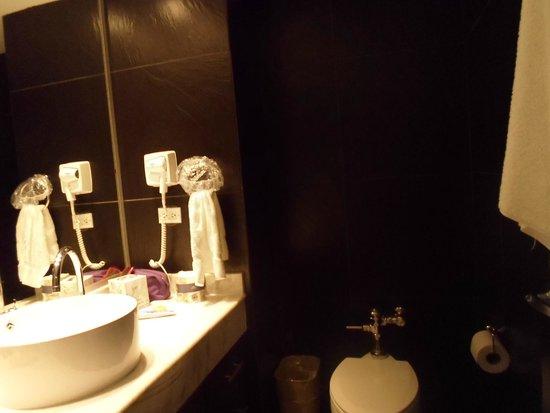 Riande Granada Urban Hotel: BAÑO