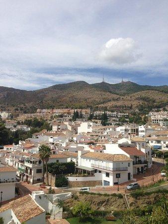 Hotel La Fonda: view from sun terrace