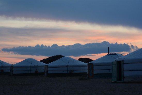 Red Rock Wilderness Camp: Sunset
