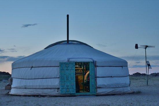 Red Rock Wilderness Camp: Restaurant ger