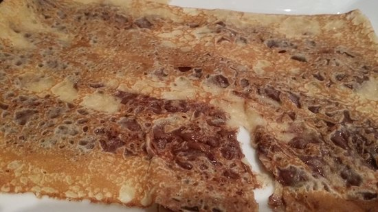Crepe Avenue: Crepe with Nutella. Soft and warm...