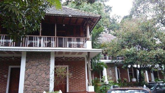 Hotel Ambadi: The location of the room