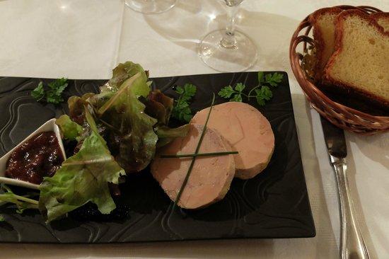 Auberge du Vieux Puits : Entrée: Foie Gras